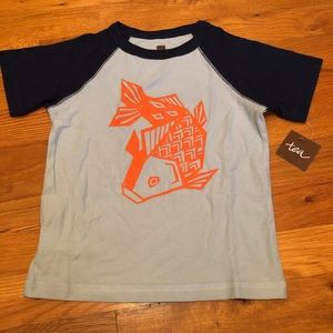 Tea brand T-shirt new with tags 3t